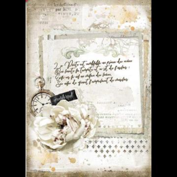 Romantika kézírás és óra DFSA4557