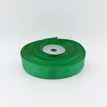 Szatén szalag zöld