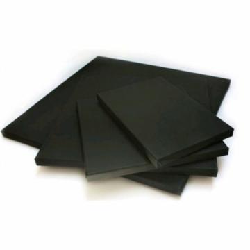 Fekete feszített vászon - 40x40 cm