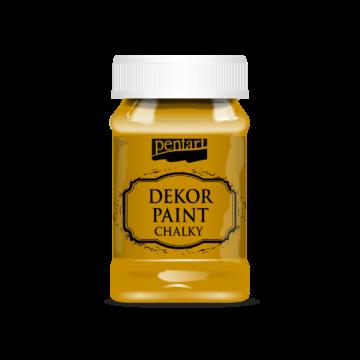Dekor krétafesték mustársárga