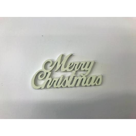 Fa Merry Christmas fafelirat több méretben