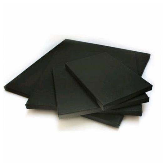 Fekete feszített vászon - 24x30 cm