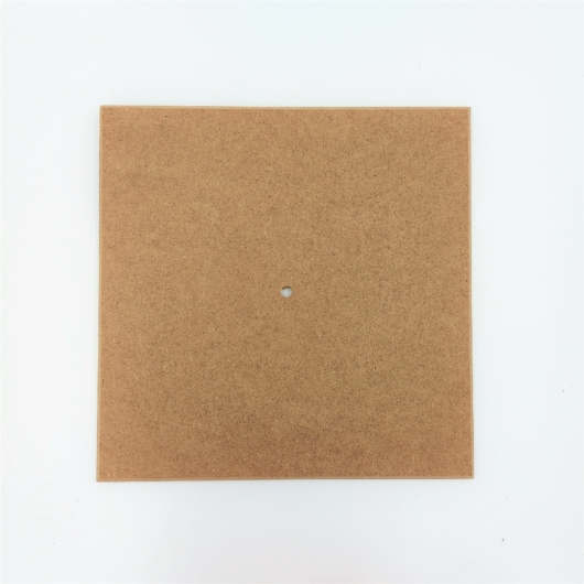 Mdf óralap (5mm) 25cm x 25cm